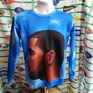 Drake Nothing Was The Same Sublimated Crewneck M